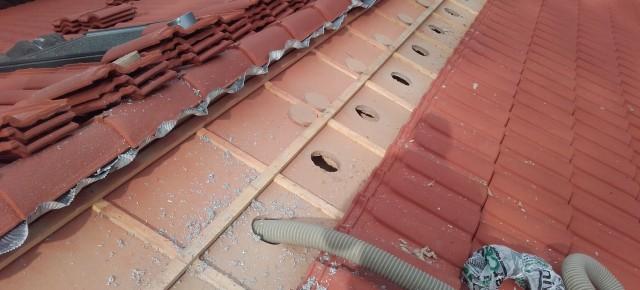 Isolation et réfection de toiture par l'extérieur